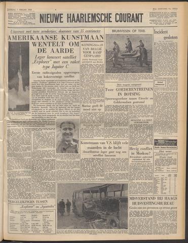 Nieuwe Haarlemsche Courant 1958-02-01