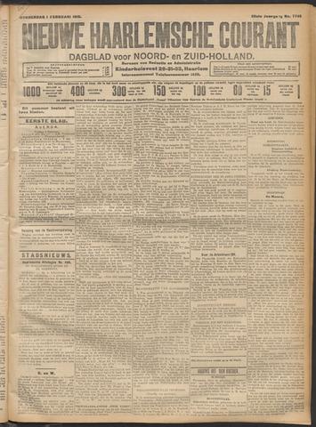 Nieuwe Haarlemsche Courant 1912-02-01