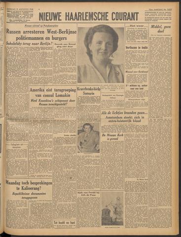 Nieuwe Haarlemsche Courant 1948-08-21