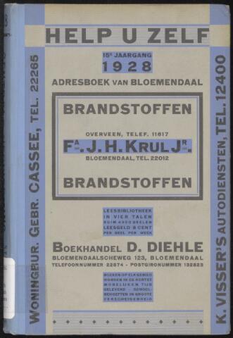 Adresboeken Bloemendaal 1928