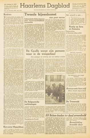 Haarlem's Dagblad 1945-11-19