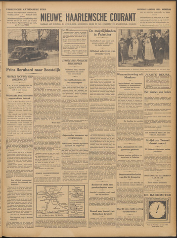 Nieuwe Haarlemsche Courant 1938-01-05