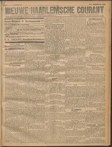 Nieuwe Haarlemsche Courant 1919-10-22