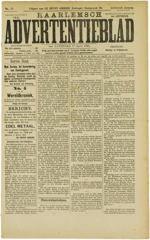 Haarlemsch Advertentieblad 1895-04-27