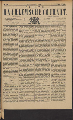 Nieuwe Haarlemsche Courant 1896-03-25