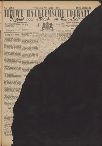 Nieuwe Haarlemsche Courant 1904-04-27