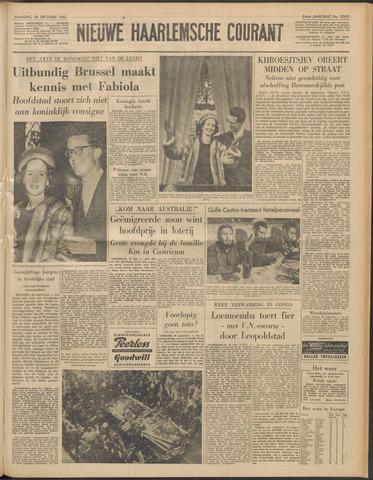 Nieuwe Haarlemsche Courant 1960-09-26