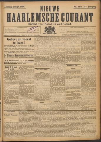 Nieuwe Haarlemsche Courant 1906-09-29