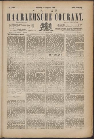 Nieuwe Haarlemsche Courant 1888-08-29