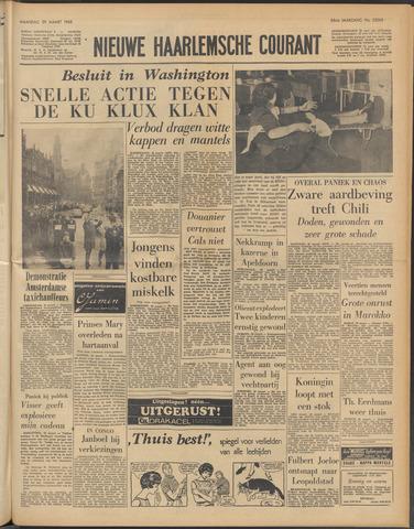 Nieuwe Haarlemsche Courant 1965-03-29