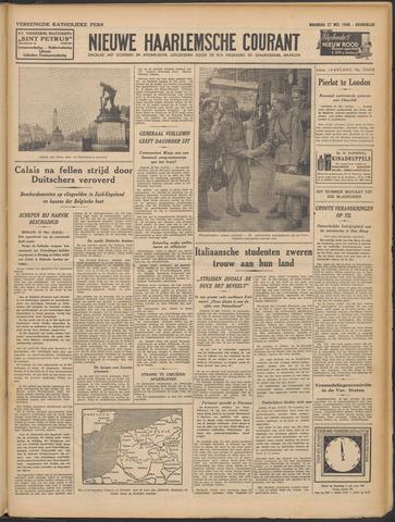 Nieuwe Haarlemsche Courant 1940-05-27