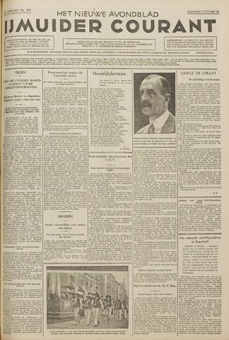 IJmuider Courant 1938-10-17