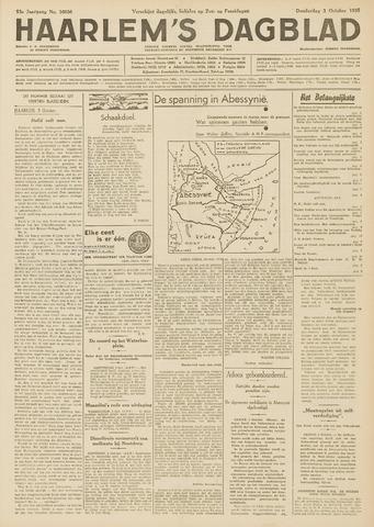 Haarlem's Dagblad 1935-10-03