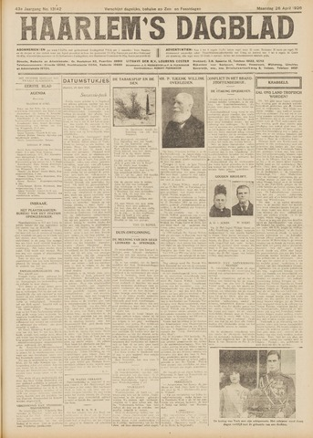 Haarlem's Dagblad 1926-04-26