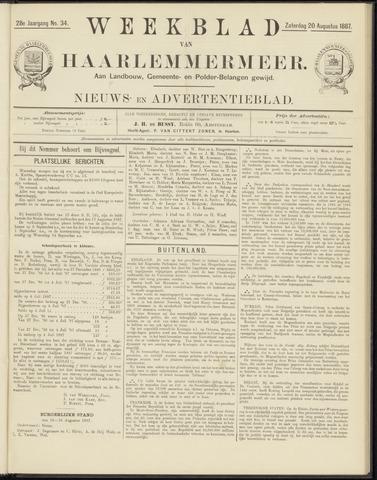 Weekblad van Haarlemmermeer 1887-08-20