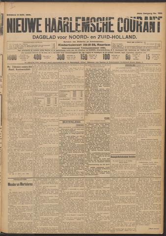 Nieuwe Haarlemsche Courant 1909-11-02