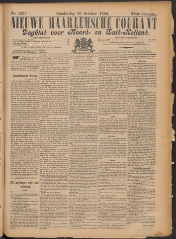 Nieuwe Haarlemsche Courant 1902-10-30