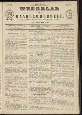 Weekblad van Haarlemmermeer 1873-07-04