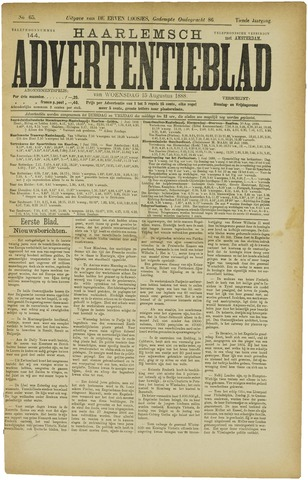 Haarlemsch Advertentieblad 1888-08-15