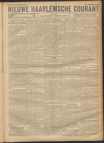 Nieuwe Haarlemsche Courant 1920-11-25