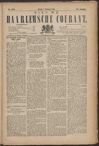 Nieuwe Haarlemsche Courant 1890-02-07
