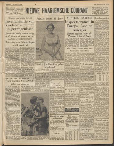 Nieuwe Haarlemsche Courant 1957-08-03