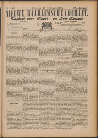 Nieuwe Haarlemsche Courant 1904-09-28