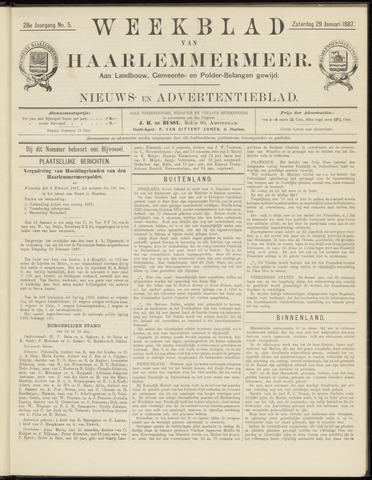 Weekblad van Haarlemmermeer 1887-01-29