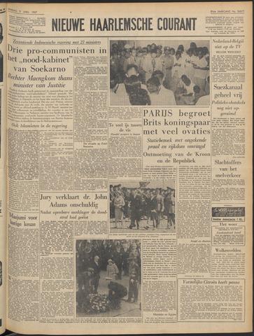 Nieuwe Haarlemsche Courant 1957-04-09
