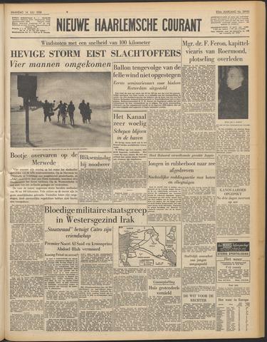Nieuwe Haarlemsche Courant 1958-07-14