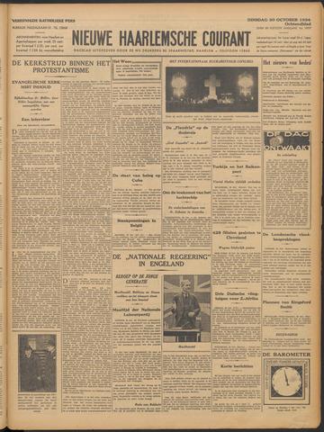 Nieuwe Haarlemsche Courant 1934-10-30