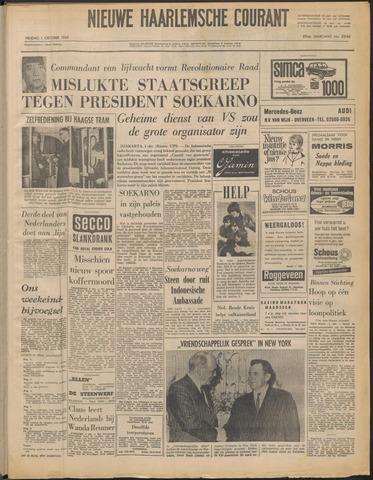 Nieuwe Haarlemsche Courant 1965-10-01