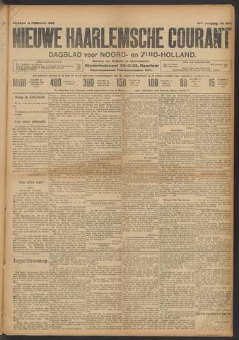 Nieuwe Haarlemsche Courant 1909-02-12