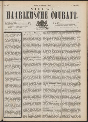Nieuwe Haarlemsche Courant 1877-10-21