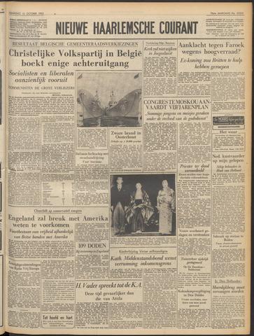 Nieuwe Haarlemsche Courant 1952-10-13
