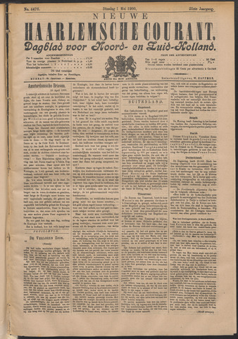 Nieuwe Haarlemsche Courant 1900-05-01
