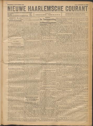 Nieuwe Haarlemsche Courant 1920-09-22