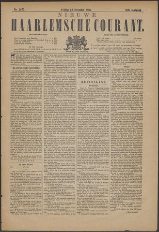 Nieuwe Haarlemsche Courant 1893-12-22