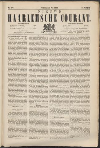 Nieuwe Haarlemsche Courant 1884-05-22