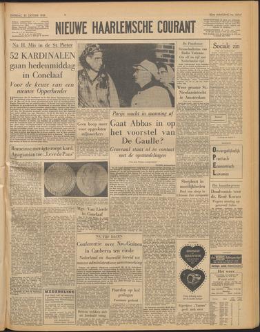 Nieuwe Haarlemsche Courant 1958-10-25
