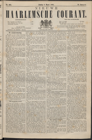 Nieuwe Haarlemsche Courant 1881-03-06