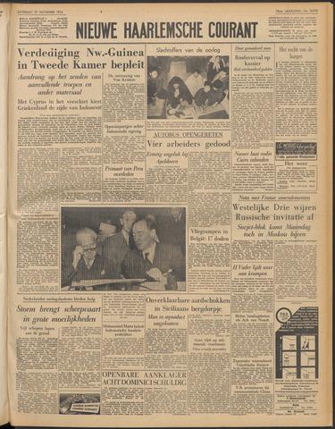 Nieuwe Haarlemsche Courant 1954-11-27