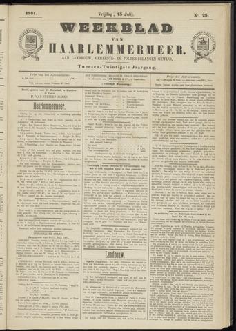 Weekblad van Haarlemmermeer 1881-07-15