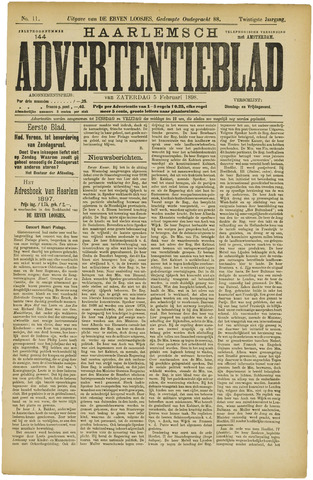 Haarlemsch Advertentieblad 1898-02-05
