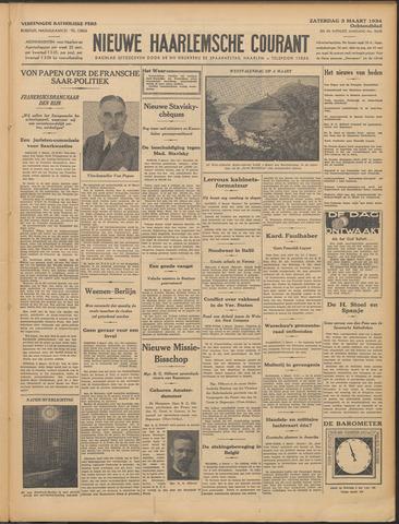 Nieuwe Haarlemsche Courant 1934-03-03