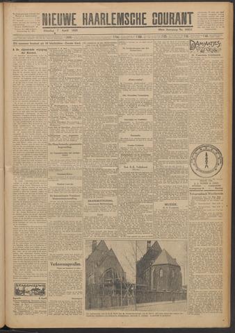 Nieuwe Haarlemsche Courant 1925-04-07