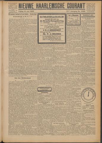 Nieuwe Haarlemsche Courant 1922-06-16