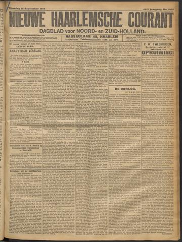Nieuwe Haarlemsche Courant 1916-09-12