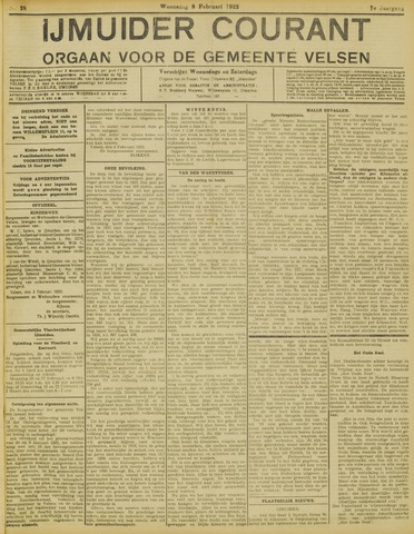 IJmuider Courant 1922-02-08