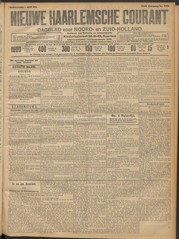 Nieuwe Haarlemsche Courant 1911-06-01